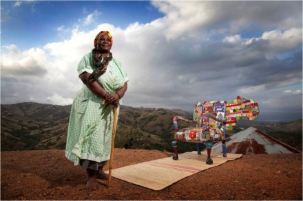 Labour of Love : The famous 'Dreams for Africa Armchair ' won Most Beautiful Object at 2011's Design Indaba